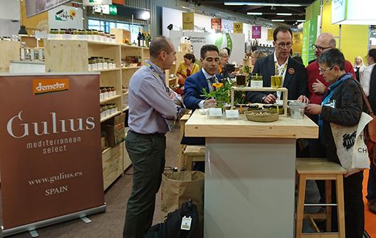 Gulius at the Biofach fair in Nuremberg 2018
