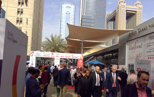 Gulius at the Gulfood fair in Dubai 2019
