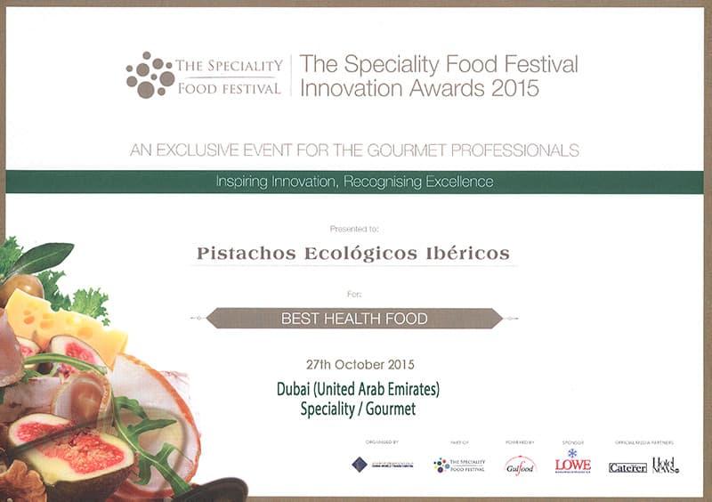 Award Speciality Dubai Fair 2015