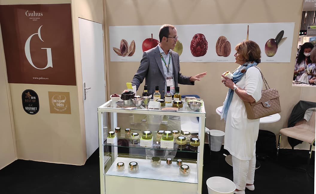 Gulius has exhibiting at the Fair in Olympia and at the Gourmet Selection salon in Paris